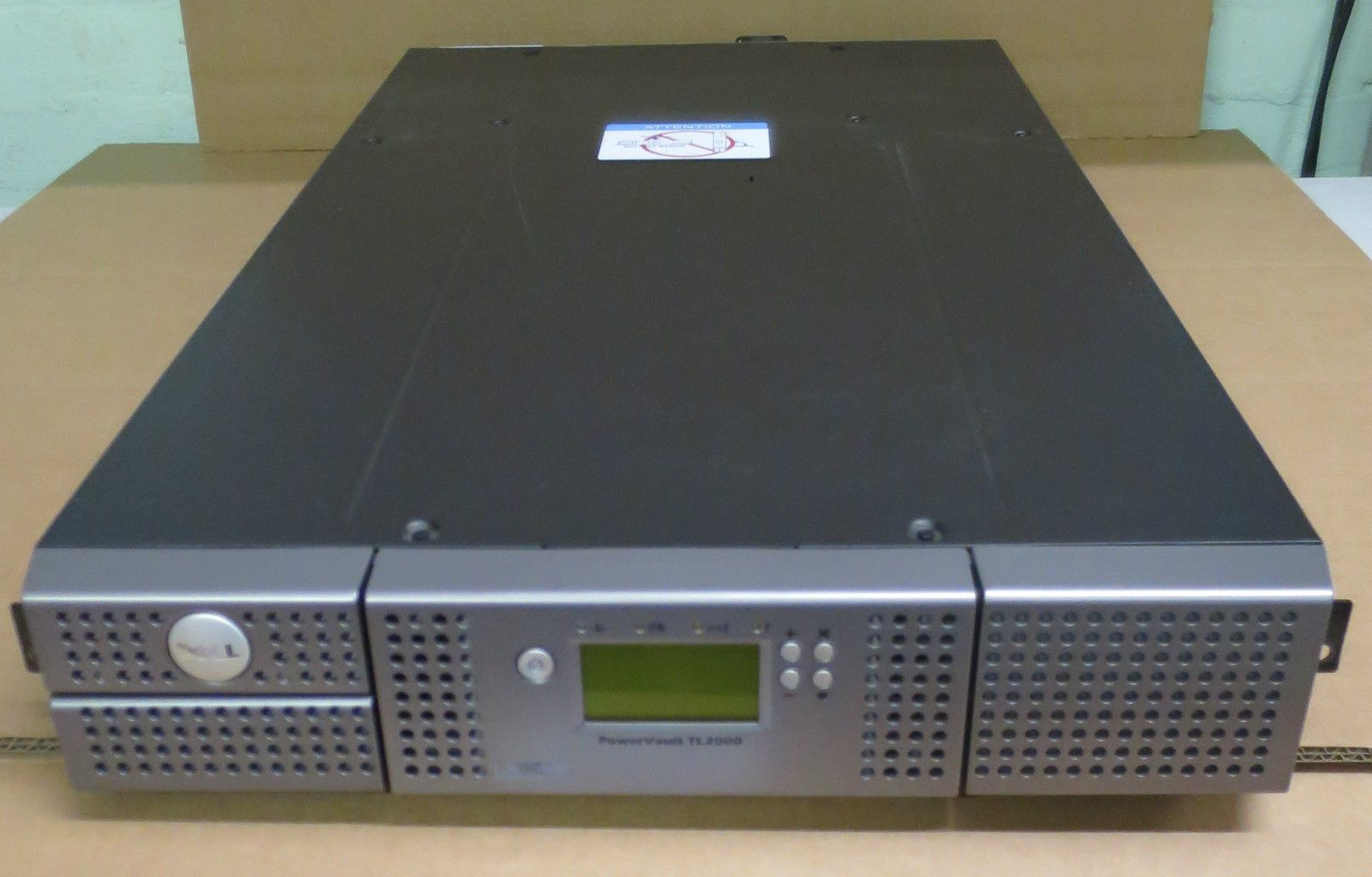 dell powervault tl2000 backup tape library 2 x lto 4 sas 25 6tb capacity rh itinstock com Aiphone TL 2000 dell powervault 2000 manual